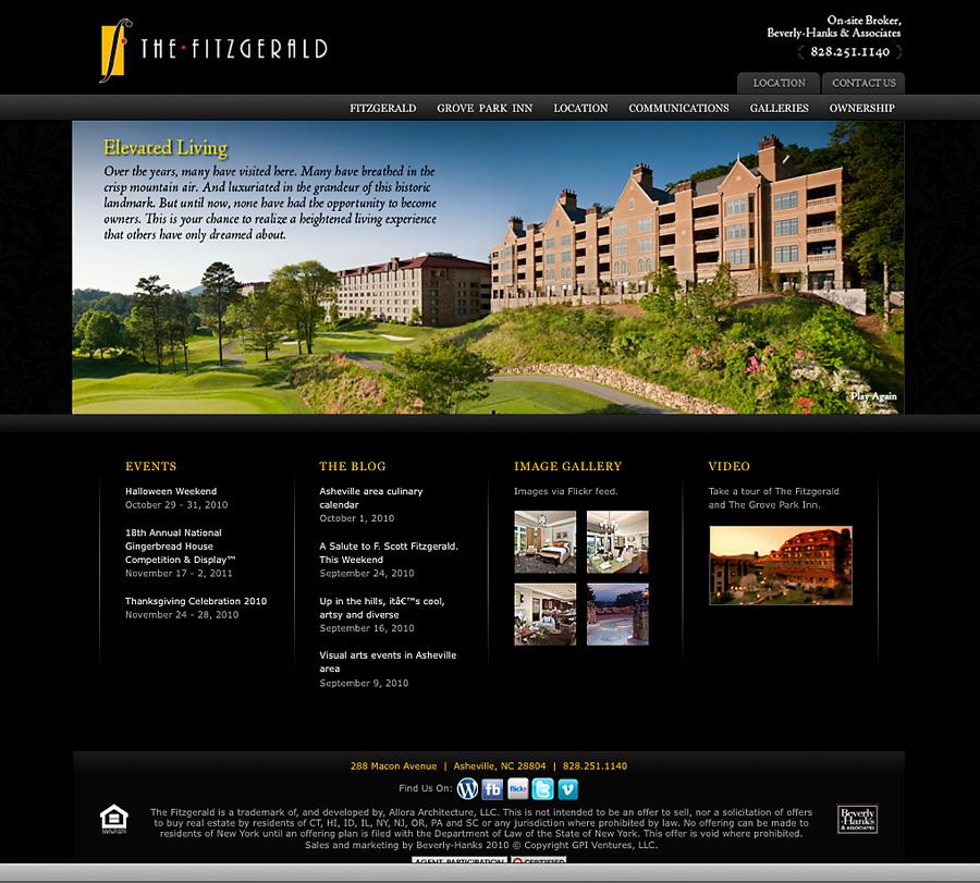 Megamad Website Design Marketing: The Fitzgerald