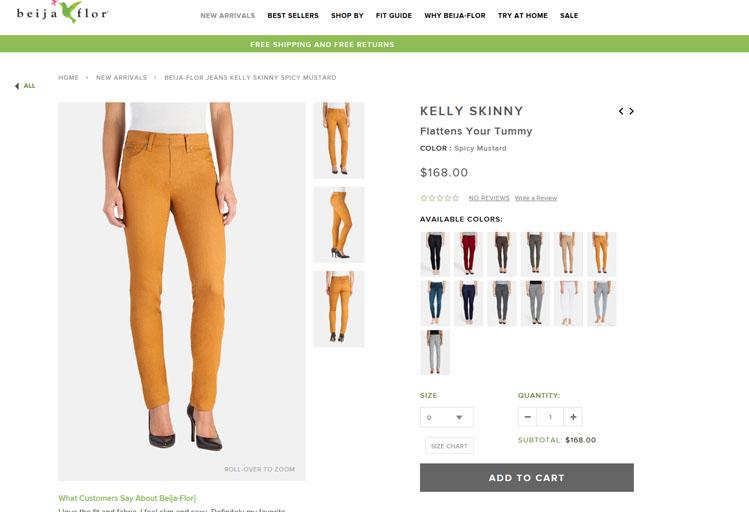 Beija Flor Jeans - Greenville, SC - Fashion