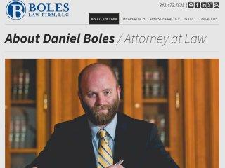 Boles Law Firm | Subpage