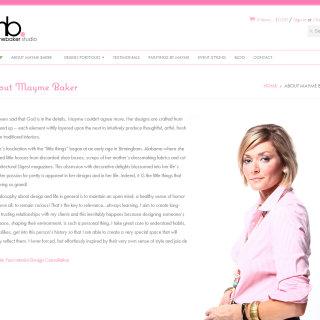 Mayme Baker Studio | Shopify Web Development